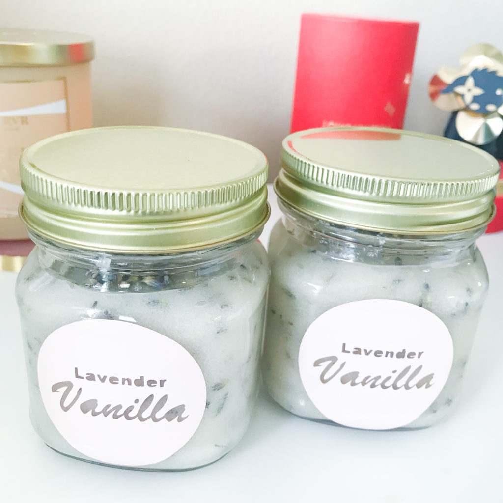 Final Lavender Vanilla Scrub Packaging
