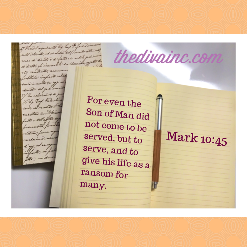 Sunday WOI Mark 10:45