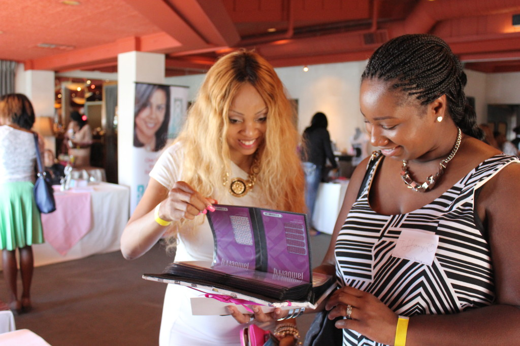 Attendees had a plethora of amazing vendors to visit during the Inaugural Urban Beauty + Wellness Brunch (2014) Photo Courtesy of Urban Beauty Network