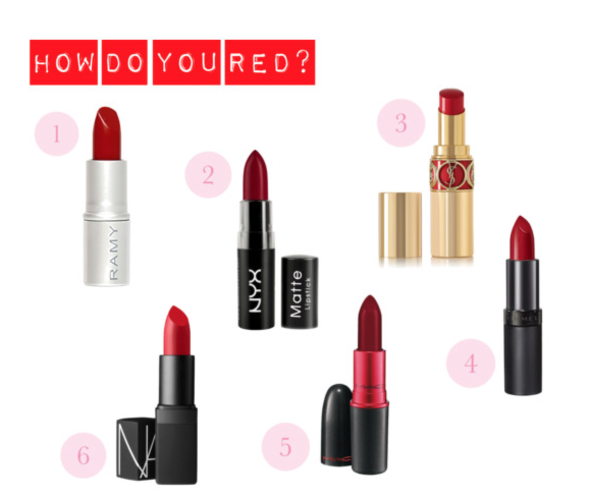 How Do You Red? by thedivadiaries featuring a red lipstick