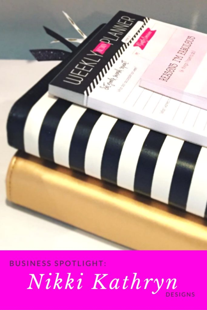 Nikki Kathryn Planner binders