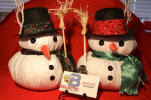 BEclectic Crafts Snowmen