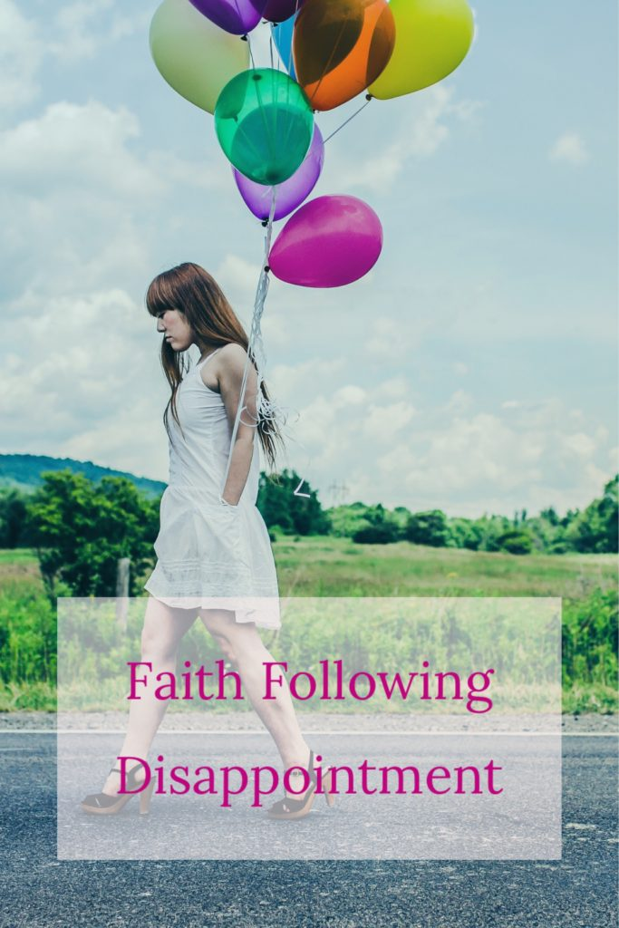 Faith Following Disappointment